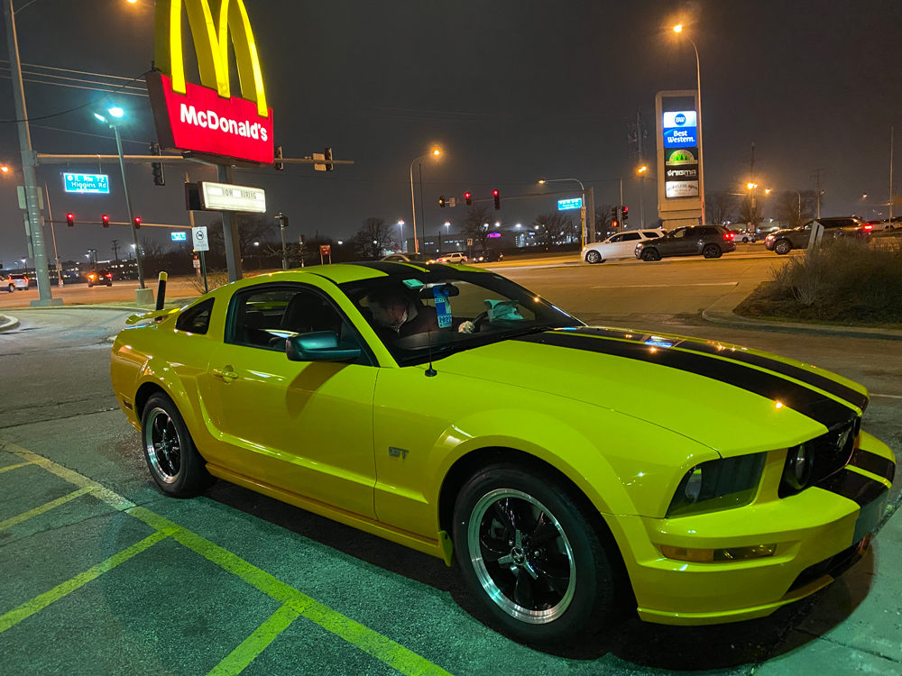 2007 Ford Mustang GT & McDonalds