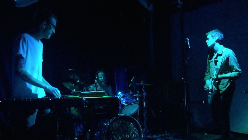 Tyler Etters, Arthur Zdrinc, and Adam Moore at The Burlington, 2015